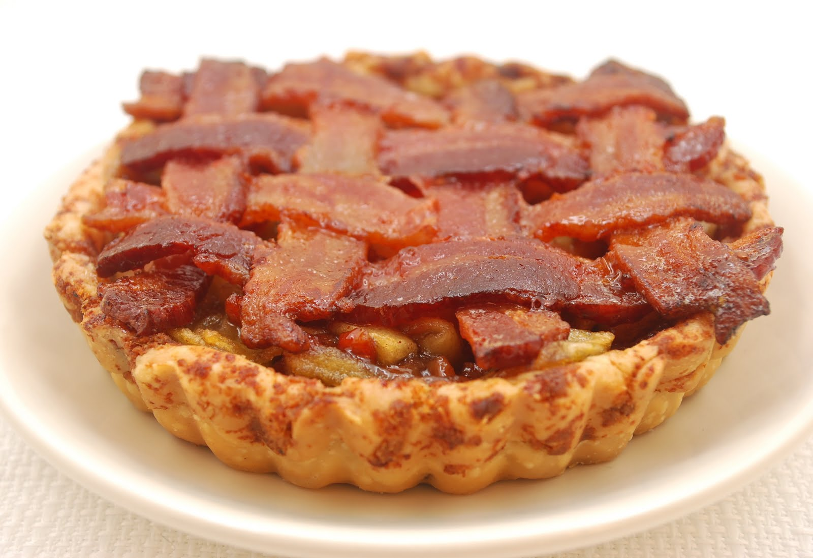 Bacon on Apple Pie? Maple Bacon Donuts? Yum!